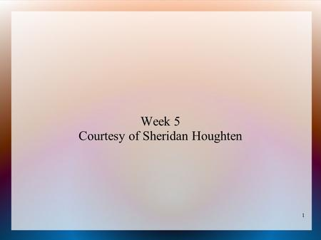1 Week 5 Courtesy of Sheridan Houghten. 2 Lexicographic Order – Subsets of {1, …, n} (See KS, algorithm 2.1) Algorithm to find rank of subset T: FindRank(n,