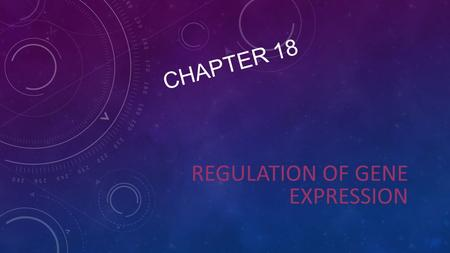 CHAPTER 18 REGULATION OF GENE EXPRESSION. OVERVIEW: CONDUCTING THE GENETIC ORCHESTRA Prokaryotes and eukaryotes alter gene expression in response to their.