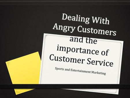 importance of customer service essay
