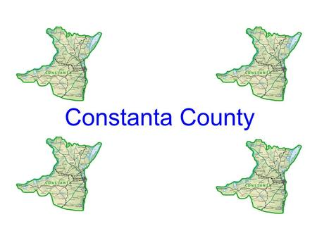 Constanta County. Constanta County is the most urbanized county in Romania. The North is separated from Tulcea County through a conventional line, which.