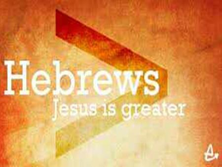 Jesus the Priest Hebrews 4:12-16 1. Introduction.