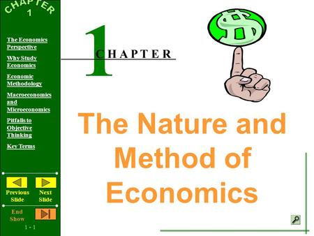economics is concerned with the efficient 14-1 chapter 14: economics of pollution control i introduction a  up until this point, we have focused on the flow of resources into the economic system.