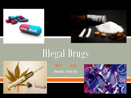 The abuse of illegal drugs ought to be treated as a matter of public health, rather than o