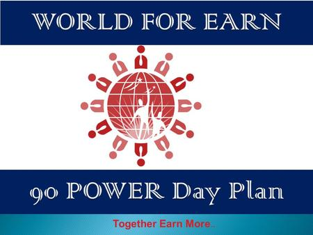 "Together Earn More... Purchase Your ""Discount Card"" ""POWER Code"" = (Rs=3000) Validity 90 Days Re-Activation Fee (Rs=1000)"