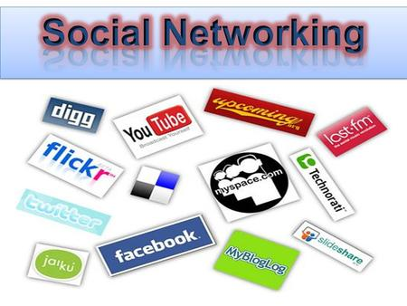 ➲ What's a social network? ➲ Cases o Facebook and Twitter o Youtube o Wiki o Blogging (Dell) ➲ What will the future bring?