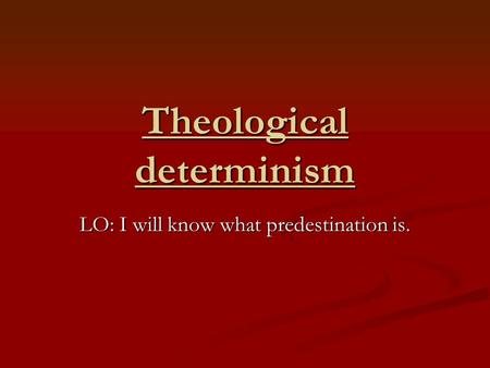 understanding the existence of free will and determinism Compatibilists believe that free will is compatible with determinism,  thus,  libertarians are incompatibilists who think that free will exists.