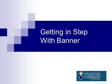 Getting in Step With Banner. Agenda Banner Timeline What is Banner Finance? What do the New Accounts Numbers Look Like? When do I use the New Account.