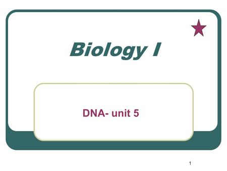 1 Biology I DNA- unit 5. 2 Mating two living things breeding.