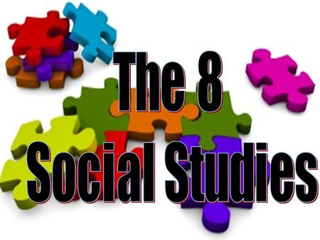 ACADEMIC ORGANIZATION The Social Studies The ArtsThe Sciences.