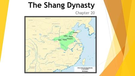 The Shang Dynasty Chapter 20.