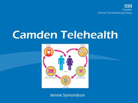 Camden Telehealth Long Term Conditions and Cancer Programme Jennie Symondson.
