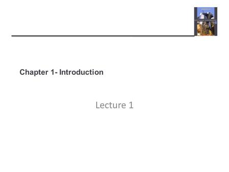 Chapter 1- Introduction Lecture 1. Topics covered  Professional software development  What is meant by software engineering.  Software engineering.
