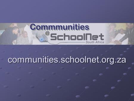 Communities.schoolnet.org.za. Free Requires EDN registration edn.schoolnet.org.za edn.schoolnet.org.za Sharing and Collaboration Communities of practice.