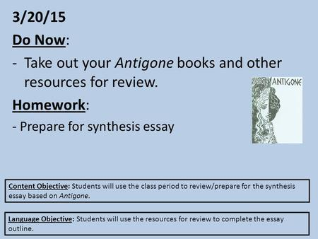 antigone study guide questions wood Download antigonepdf read online antigone by sophocles written 442 bce translated by r c jebb dramatis personae daughters of oedipus: antigone ismene creon, king of thebes a summary of antigone, lines 1–416 in sophocles's the oedipus plays.