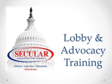 Lobby & Advocacy Training. Lobbying Preparation Build a coalition Grow your list of supporters Gather and prepare resources Establish relationships with.