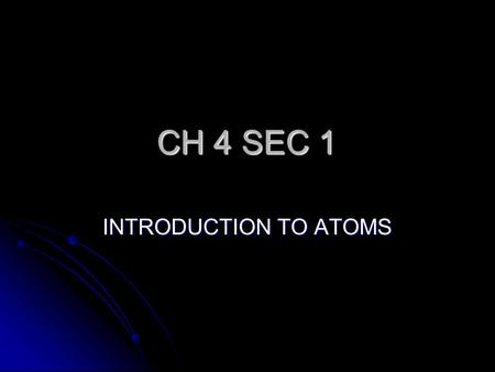 an introduction to the analysis of atoms Build an atom out of protons, neutrons, and electrons, and see how the element,  charge, and mass change then play a game to test your ideas.