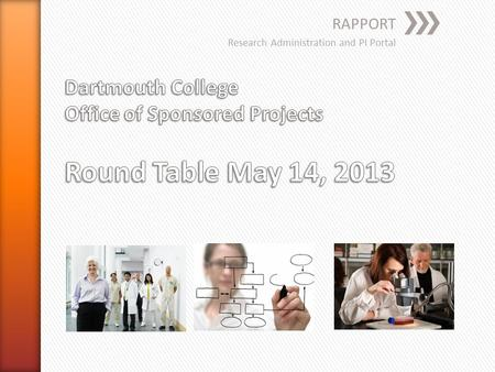 RAPPORT Research Administration and PI Portal. » Work in the Funding Proposal (FP) FIRST, not the SF424 » What you need to enter/upload in the SF424.