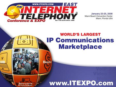 Intelligent Interconnects in the VoIP Peering Environment John Longo VP Product Marketing & Management, NextPoint.