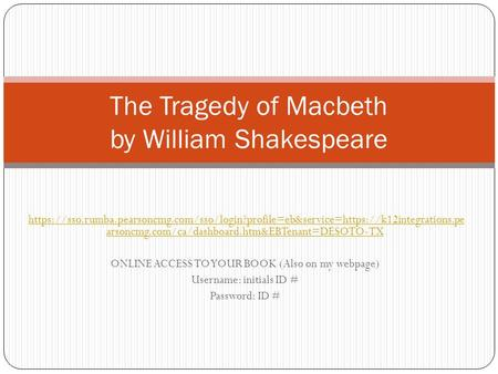 "macbeth tragedy by william shakespeare essay Conscience in montaigne's ""essays"" & shakespeare's ""macbeth""  great books william shakespeare by  does not absolve sin or prevent tragedy moral ."