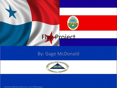 Flag Project By: Gage McDonald. Panama Capital- Panama City Ethnic Groups- Mestizo, African, Caucasian, Indigenous, and Asian. Religion- Roman Catholic,