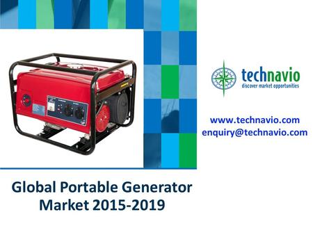 Global Portable Generator Market 2015-2019.