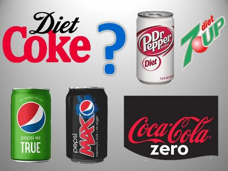 What's the trend with diet drinks? Soda companies have targeted consumers who want to lose weight and enjoy a can of fizzy chemicals. But instead they.
