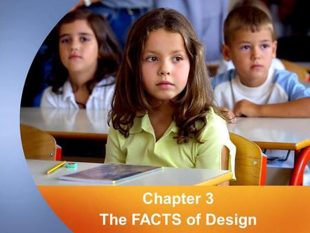 "Chapter 3 The FACTS of Design. Teacher as Designer Some ""suggested"" roles of teacher –Sage on stage, director, coach, cognitive mentor Norton & Wiburg."