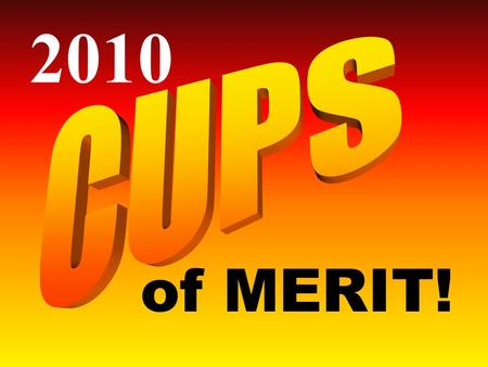 "Of MERIT! 2010. At each year's NCECA Cup Sale, three cups are granted the ""Cups of Merit"" Award. Recipients are commissioned to create 4 pieces, for up."