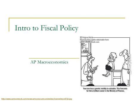 AP Economics Fiscal Policy Flashcards | Quizlet