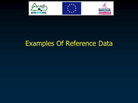 Examples Of Reference Data