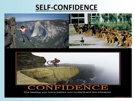 SELF-CONFIDENCE. Introduction What is confidence? Come from? How important is confidence? What raises it? Lowers it? Is over-confidence bad? Why? Who.