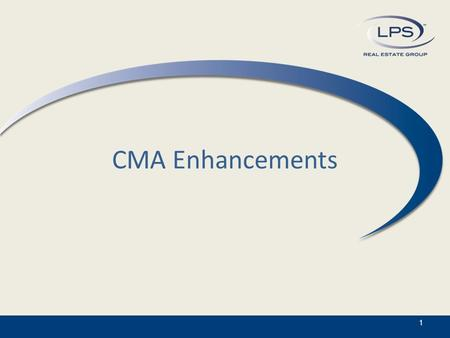 CMA Enhancements 1. CMA is now Wizard Based 2 For ease of use, the CMA tool in Paragon 5 is now in a Wizard format. Simply click on the section you wish.