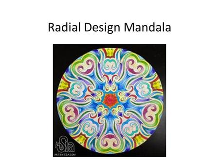Radial Design Mandala. What is a Mandala? The meaning of mandala comes from Sanskrit meaning circle. Even though it may be dominated by squares or triangles,