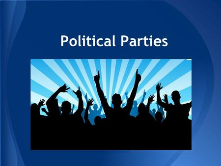 Political Parties. Ticket splitting is now very common The big trends: