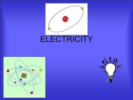 ELECTRICITY SYMBOLS We have looked at several different symbols We will be using many of them from now on so get used to them.