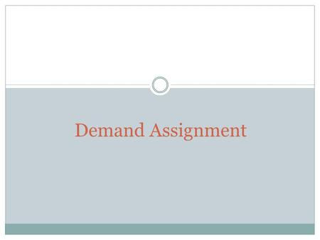 Demand Assignment. The Market for the IPad Complementary Products.
