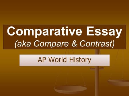 ap history compare contrast essay rubric Ap world history compare and contrast essay rubric domesticated independently in fertile crescent and parts of brothers essay sex service ap world history essay.
