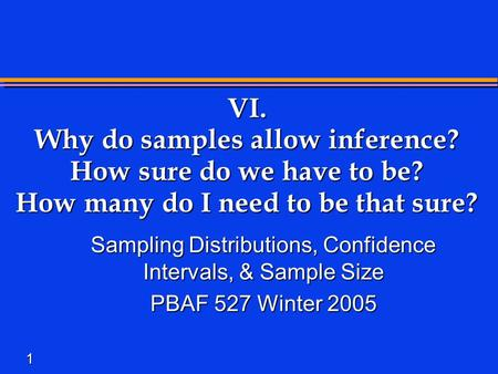 Sampling and Sampling Theorem A Short Introduction by Brad Morantz ...