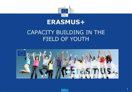 1 ERASMUS+ CAPACITY BUILDING IN THE FIELD OF YOUTH.