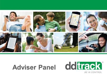 "Adviser Panel. Go to www.ddtrack.co.zawww.ddtrack.co.za All DD Track Advisers: Click ""Advisor Login"""