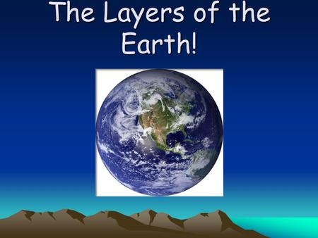layers of the earth essay Kids learn about the science of the composition of the earth different layers and what they do.