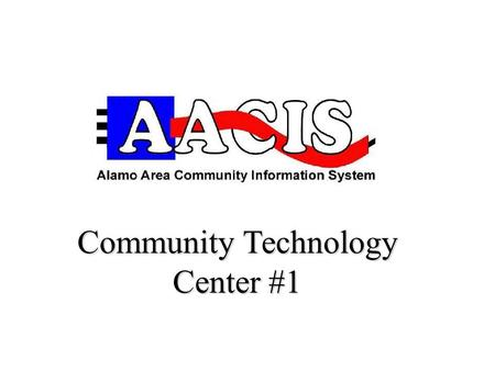 Community Technology Center #1. Learning & Leadership Development Center Margarita R. Huantes Free Classes (210) 225-0174.