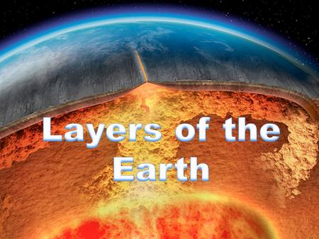 An Overview The Earth is made of 5 main internal layers and one external layer (the atmosphere). This diagram shows the locations and approximate thicknesses.