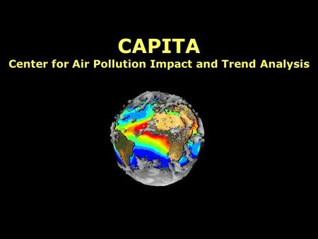 CAPITA Center for Air Pollution Impact and Trend Analysis.