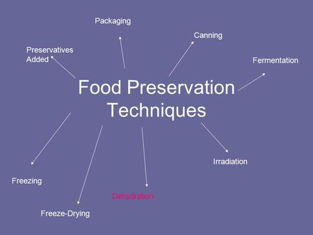 Food Preservation Techniques