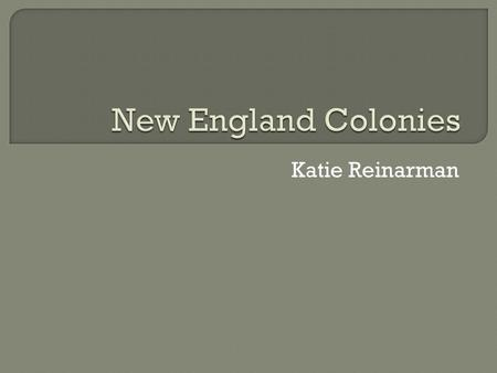 Katie Reinarman.  1534- Henry VIII broke away from the Roman Catholic Church and created the Anglican Church  Some did not agree with this new church.