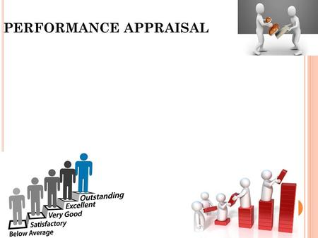 "PERFORMANCE APPRAISAL. Performance Appraisal ""Performance appraisal is the systematic evaluation of the individual with respect to his or her performance."