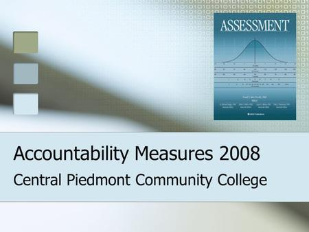 Accountability Measures 2008 Central Piedmont Community College.