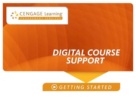 Welcome to (insert course name) (customize with instructor/course/section #)
