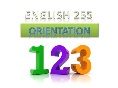 English 255 Description English 255 (91665) T/Th 6:00pm--8:05pm Rm. WATS--A160 Corequisite: READ 255 or READ 206 (1-3 units) 4 units / PASS or NO PASS.